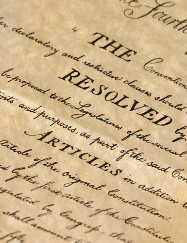 What Year Was the Constitution Written?
